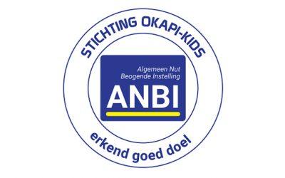 GOED NIEUWS, ANBI-status voor stichting Okapi-kids